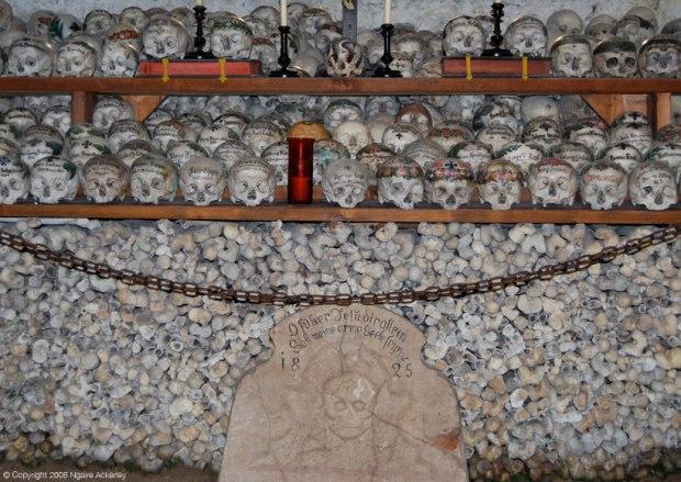 Bone House in Hallstatt