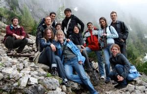 Group of Erasmus students