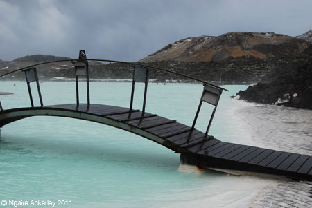 Iceland - Blue Lagoon. Copyright Ngaire Ackerley