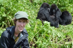Ngaire and Gorillas