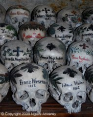 Skulls in the Bone House