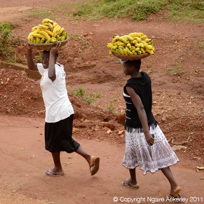 Banana carrying