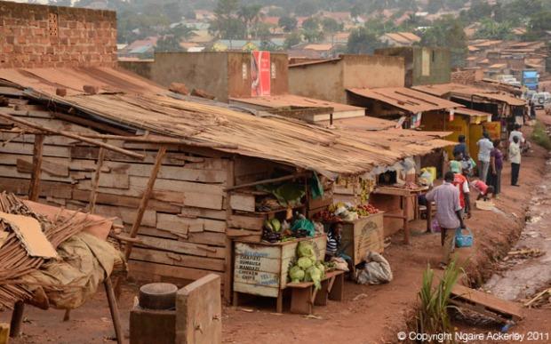 Kampala slums