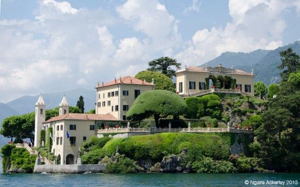 Villa del Balbianello, Lenno, Lake Como, Italy.
