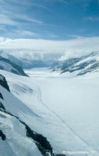 Jungfrau, Switzerland. Copyright Ngaire Ackelrey, 2013