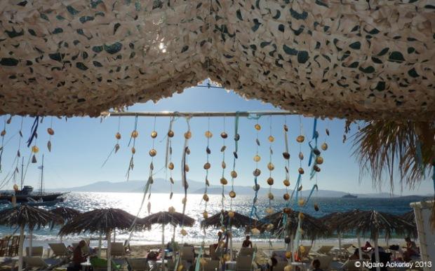 Agia Anna beach, Naxos