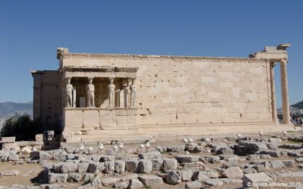 Erechtheion, Acropolis. Athens