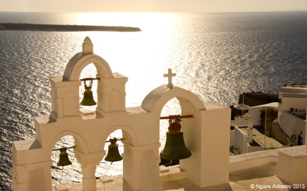 Bells in Ia, Santorini