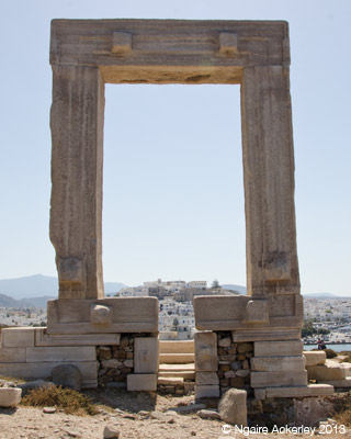 Portara, entrance to Apollo's Temple
