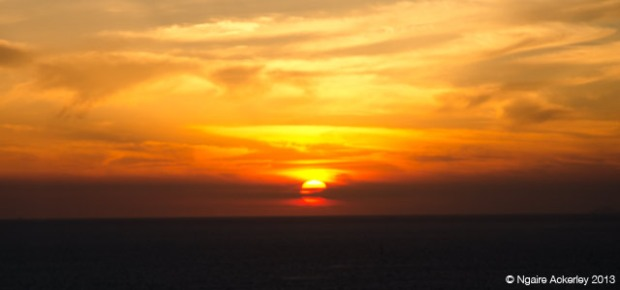 Sunset from Ia, Santorini