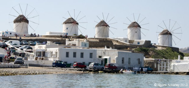 Windmills in Mykonos