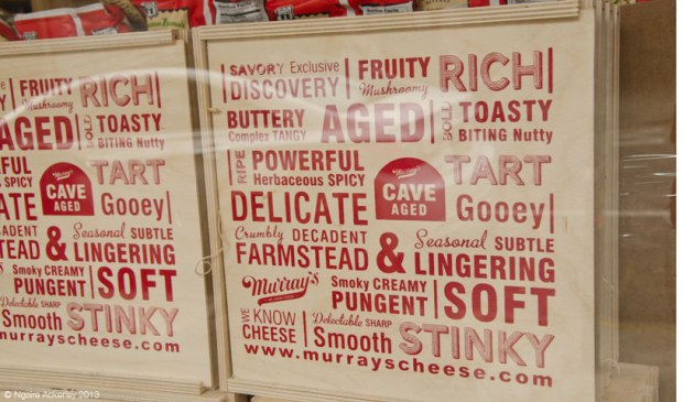 Murray's Cheese store, Manhattan, New York