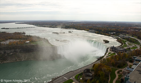Canadian side of Niagara Falls