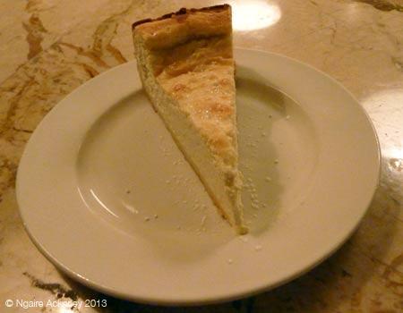 Desert cheesecake