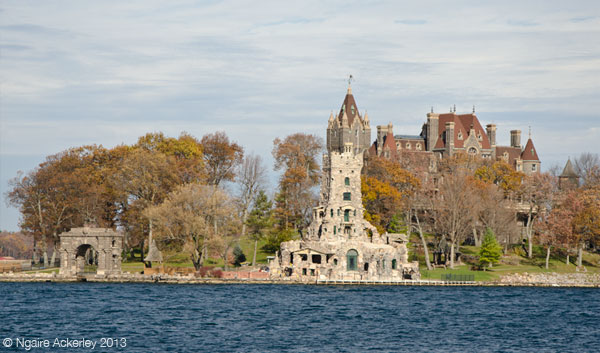 castle-like house in Thousand Islands