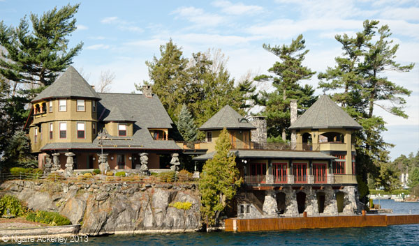 House in the Thousand Islands