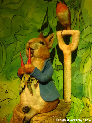 Peter Rabbit at the World of Beatrix Potter