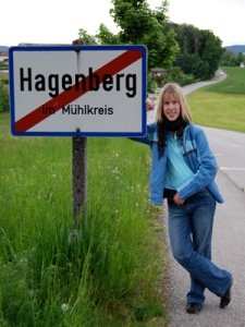 Hagenberg, just outside of Linz, where I studied in Austria
