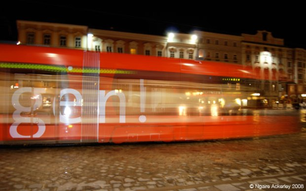 Tram in Linz, Austria