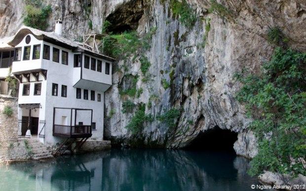 Blagaj Tekke Monastery, Bosnia and Herzegovina