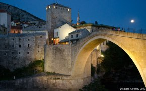 The old bridge in Mostar, Bosnia and Herzegovina