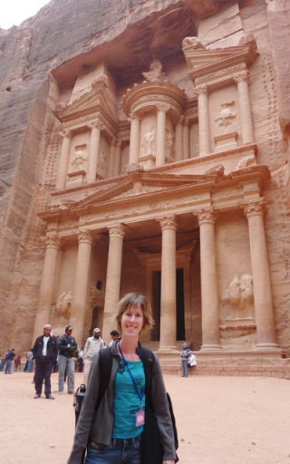 Treasury in Petra, Jordan