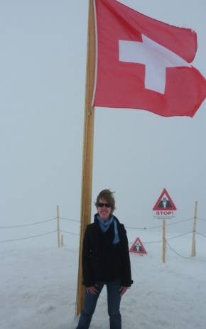 Standing at the top of Europe - Jungfrau