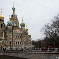 The Church of Our Savior on Spilled Blood, Saint Petersburg