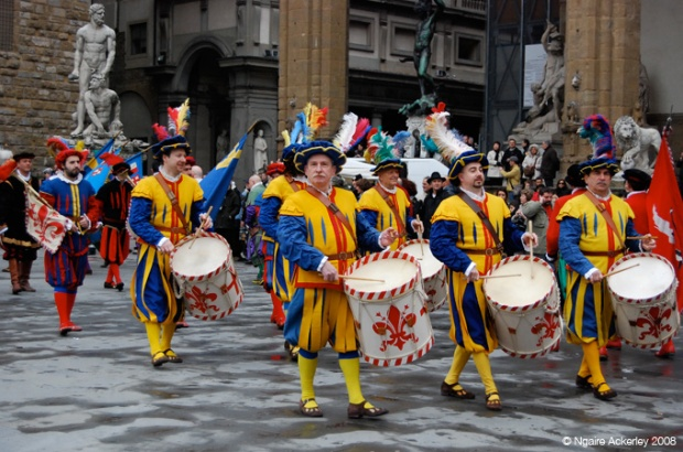 An Easter Parade, Florence, Italy