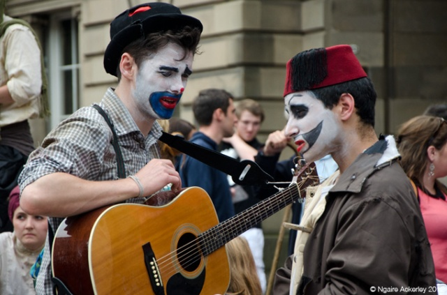 Musicians of the Fringe Festival, Edinburgh, Scotland