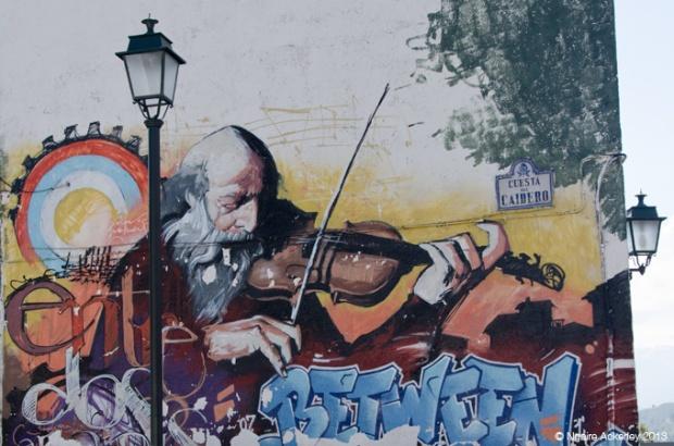 Musicians in Art, Granada, Spain