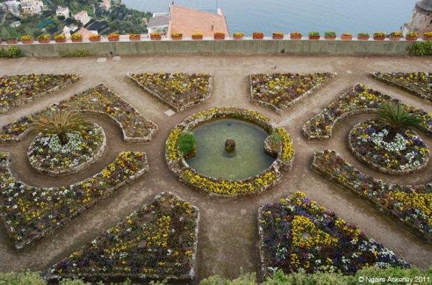 Ravello Gardens in Italy