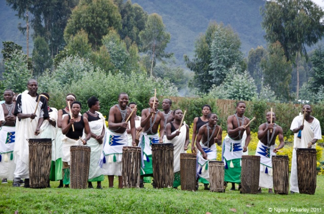 Amazing music and entertainment in Volcanoes National Park, Rwanda