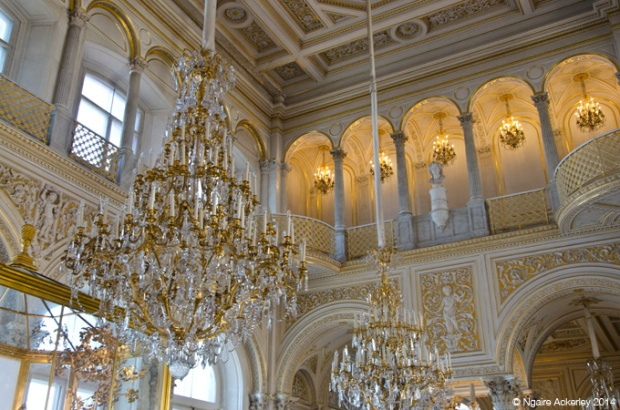 Chandeliers in the Hermitage
