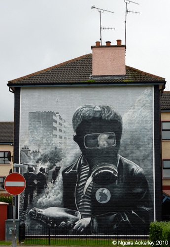 Mural in Derry