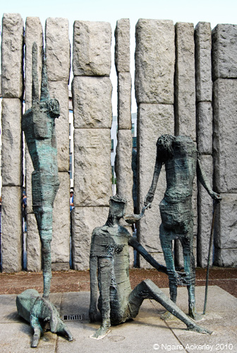 Statues of the Great Famine, Dublin, Ireland