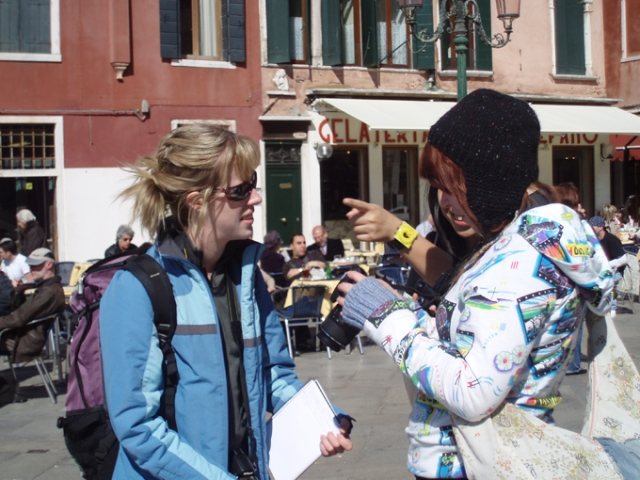 Getting confused in Venice