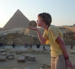 Kissing the Sphinx, Egypt