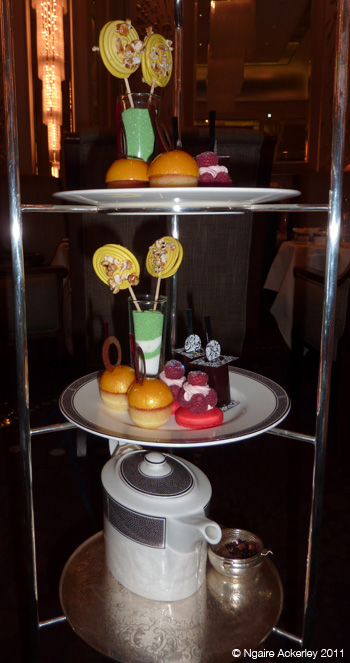 Sweets at the Langham hotel