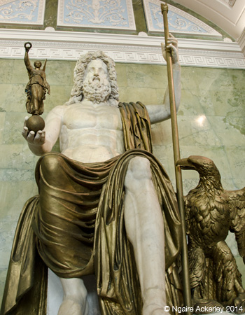 Statue of Jupiter in the Hermitage