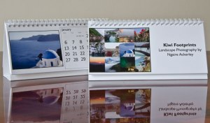 Travel Calendar made by Ngaire Ackerley