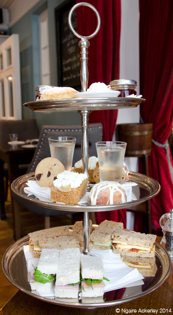 Lovely Afternoon Tea from the Church Street Townhouse
