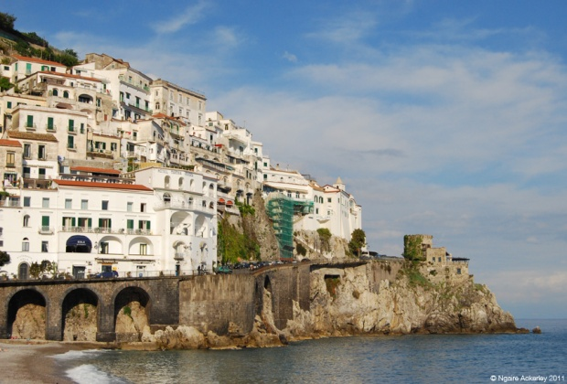 The coast of Amalfi