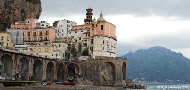 Atrani, on the Amalfi coast, Italy