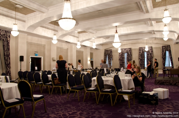 The incredible venue at the Grand Connaught Rooms in London