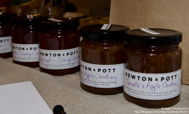 Newton & Pott - incredible Kiwi style chutneys!