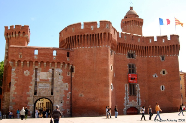 Entrance to the Old Town, Perpignan