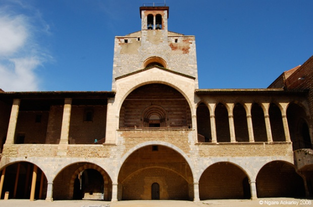 Inside the Castle of the Kings of Majorca, Perpignan