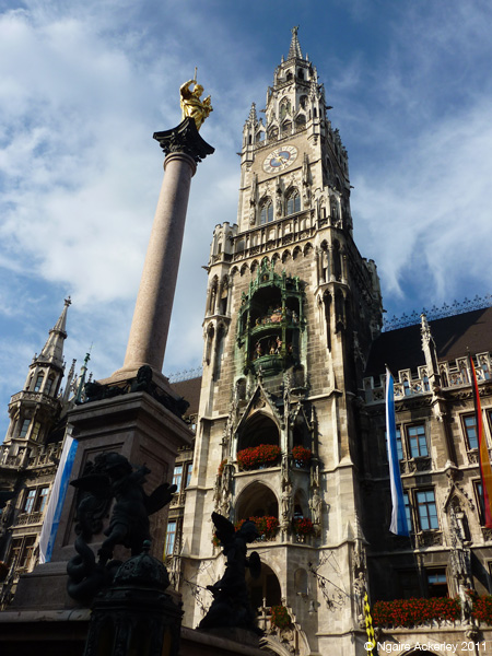 Munich Clock Tower