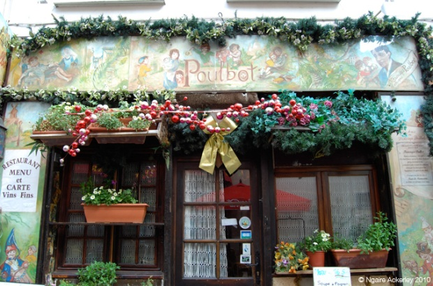Cute restaurants in Montmartre, Paris